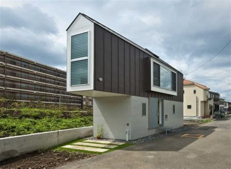 slim house design living slim narrow house design in japan webecoist