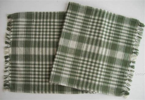 Plaid Table Runner by Richmond Plaid Cotton Country Table Runner 13 Quot X 54