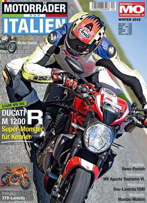 Motorrad Apel by Bericht In Der Motorr 228 Der Aus Italien Motorrad Apel