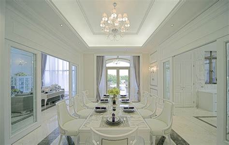 europe interior design european style villa minimalist dining room interior design