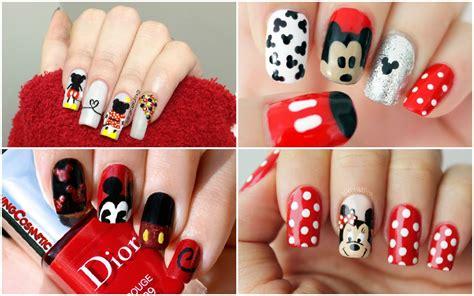 imagenes de uñas fashion mickey mouse nails u 241 as de mickey mouse fashion
