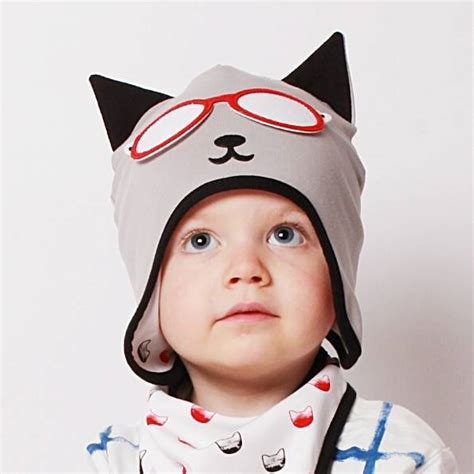 Cat Baby Hat baby s cat hat by mylittleduckling