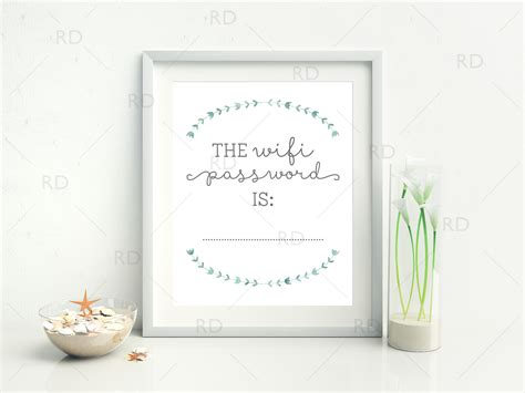 free home decor free wifi password printable riss home design home