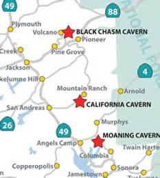 california caverns map cave and mine adventures cave tours and the california