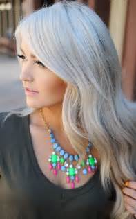 platinum grey hair color hair trend for silver blond