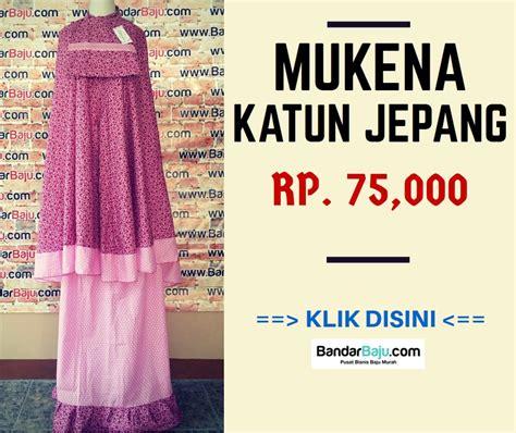 Grosir Murah Dress Morina Katun Jepang 95 pusat obral grosir baju anak 5000 mukena katun
