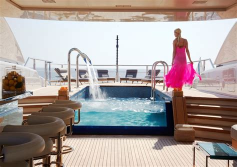 gorgeous yachts swimming pools