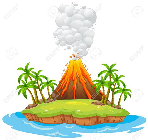 clipart volcano lava clipart volcano pencil and in color lava clipart