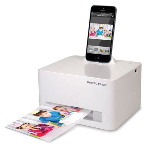 the iphone 5 6 photo printer in less than 59 seconds and without ink cartridges it prints