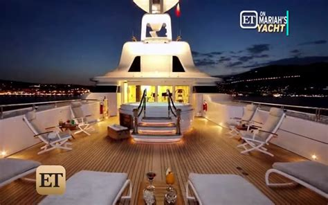 living on a boat for the summer mariah carey has been living on a boat this summer