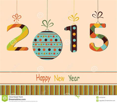 happy new year greeting cards 2015 a happy new year card crafthubs