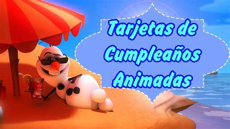 Imagenes Animadas De Cumpleaños | tarjetas de cumplea 241 os animadas youtube