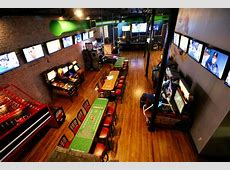 TILT Arcade Bar Openin in old Pour Lounge Space Empty Room Escape Game