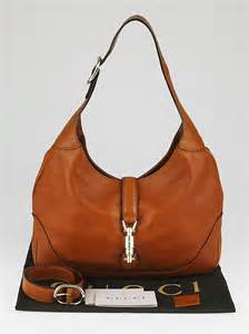 New Pauric Sweeney 08 Bags by Gucci Brown Leather New Jackie Medium Hobo Bag Yoogi S