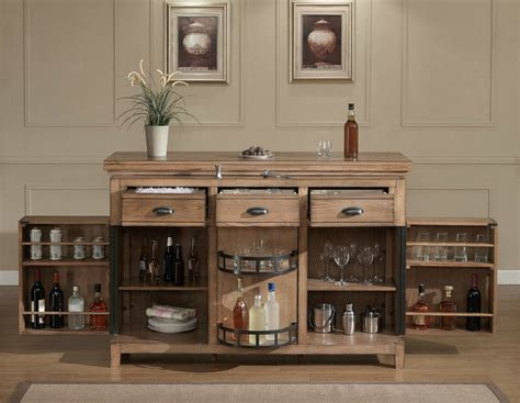 table top bar cabinet bar cabinet decor theme features base open shelves and