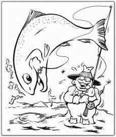 hunting fishing coloring pages coloringpagesabc com