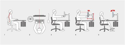 ergonomic work desk setup how to create an ergonomic workstation loctek ergonomic