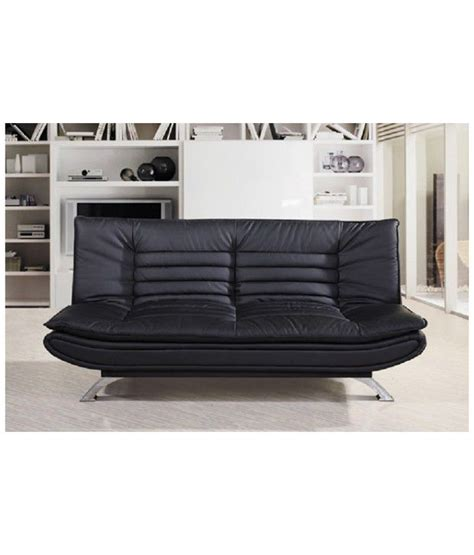 two seater sofa cum bed edo 3 seater sofa cum bed leather buy online at best