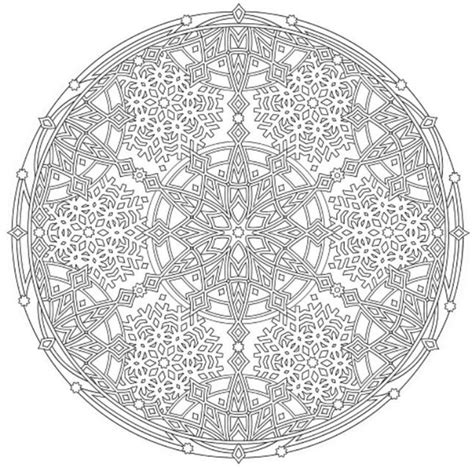 creative haven snowflake mandalas 0486803767 2307 best images about mandala on dovers coloring and mandala coloring pages