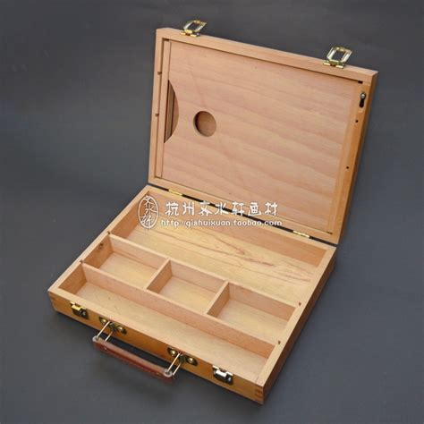 Box Container Favourite 6 Ltr Small Dengan Handle high quality artist tabletop wooden easel box with handle plus a square wood palette