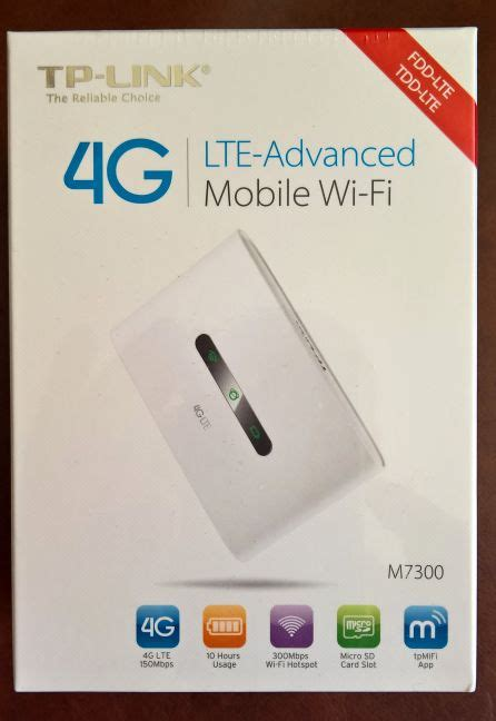 tp link mobile router reviewing the tp link m7300 lte advanced mobile wi fi