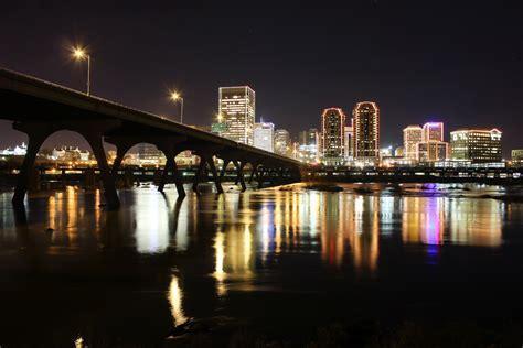 lights richmond va richmond va skyline in lights will fisher flickr