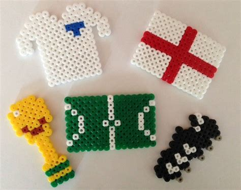 world cup crafts hama bead ted s