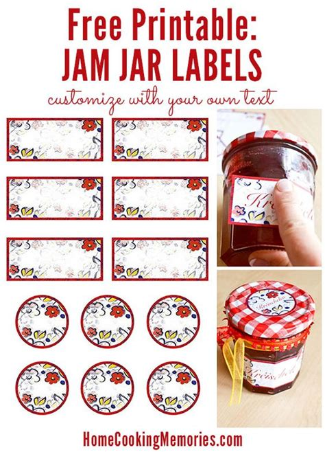 printable journal jar label jar labels homemade jams and free printable on pinterest