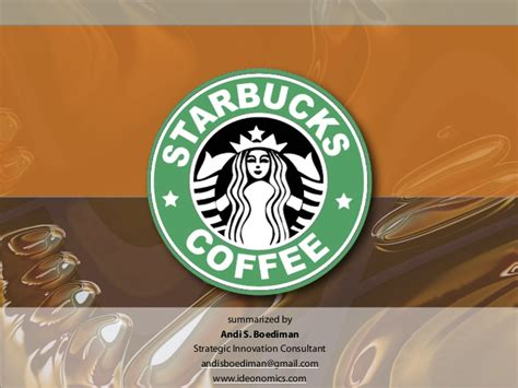starbucks powerpoint template starbucks presentation