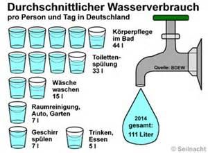 verbrauch wasser duschen www seilnacht