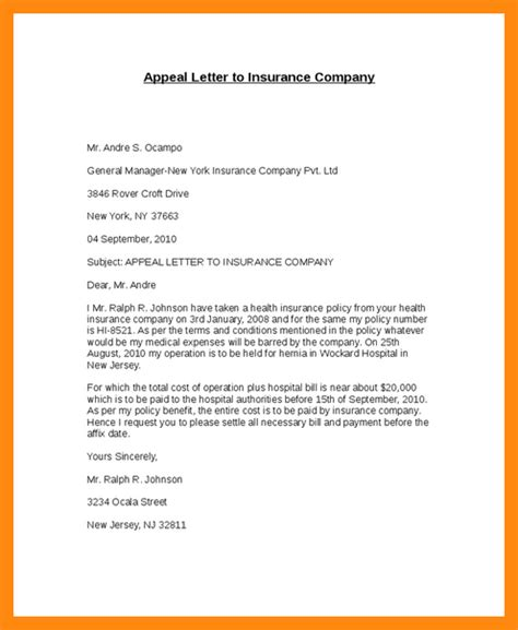 Insurance Companies Misleading Letters letter to insurance company pertamini co