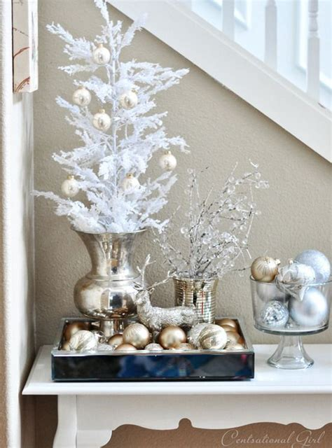 top 40 elegant and dreamy white and gold christmas