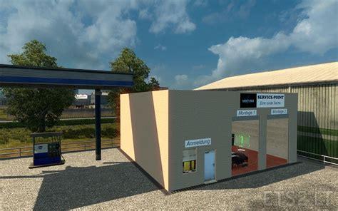 large garage large garage spt service ets2 version 1 22 xx service station ets 2 mods part 2
