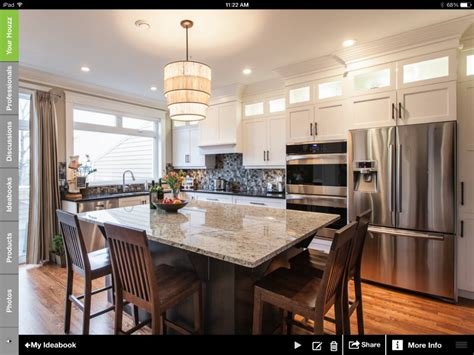 Kitchen Colors Houzz Houzz Study Homeowners Demand Open Space Kitchens