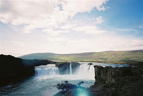 godafoss waterfall iceland godafoss waterfall iceland
