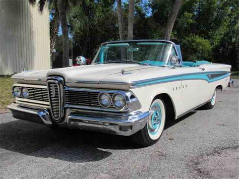 Edsel Ford Car For Sale by Classic Edsel For Sale On Classiccars