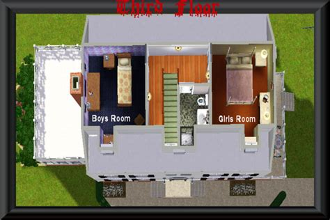 amityville house floor plan mod the sims amityville horror house