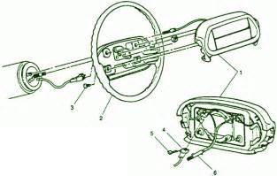 94 chevy astro airbag fuse box diagram circuit wiring diagrams