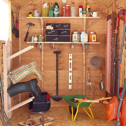 shed interior ideas sheds summerhouses garden decorating ideas red online