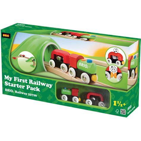 brio starter train set brio my first railway starter pack wooden train set new ebay