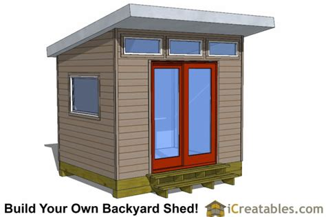 Inside Greenhouse Ideas Modern Shed Plans Modern Diy Office Amp Studio Shed Designs