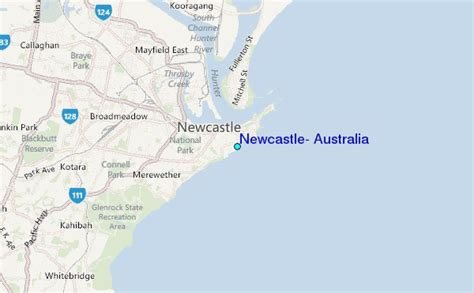 newcastle australia map newcastle australia tide station location guide