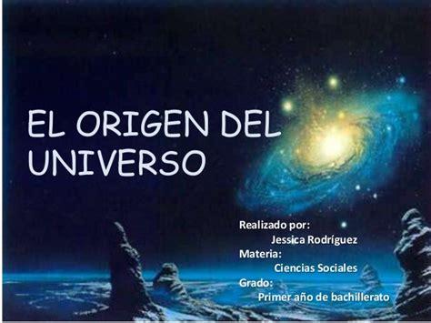 el origen del deseo 8415952899 el origen del universo