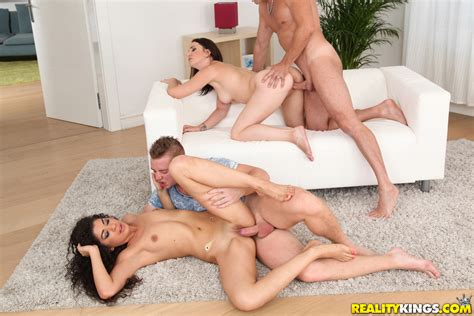 Small Titted Girl Is Having Group Sex Milf Fox