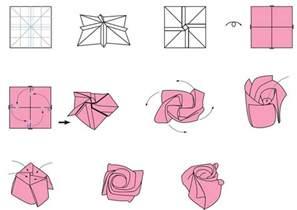 Origami Flower With A4 Paper - origami facile 100 animaux fleurs en papier et d 233 co maison