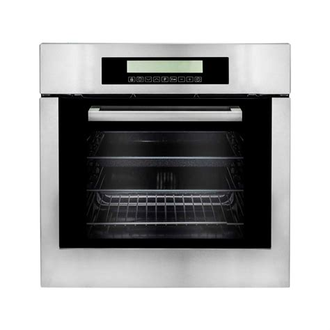 Oven Cosmos cosmo 24 in 2 cu ft single electric wall oven with
