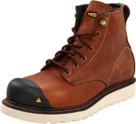 keen mens boots sale keen mens california work boot in brown for peanut