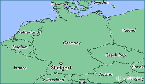 stuttgart on map where is stuttgart germany stuttgart baden
