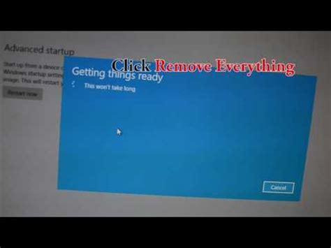 new factory reset windows 10 pc/laptop 2016 acer/dell/hp