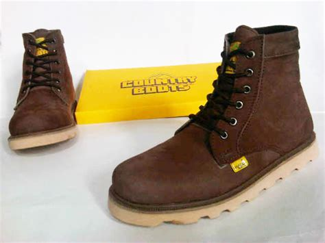 Sepatu Countryboots 02 sepatu boots country safety keren safety boots